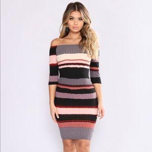 Hold Him Tight Striped Dress 🎀